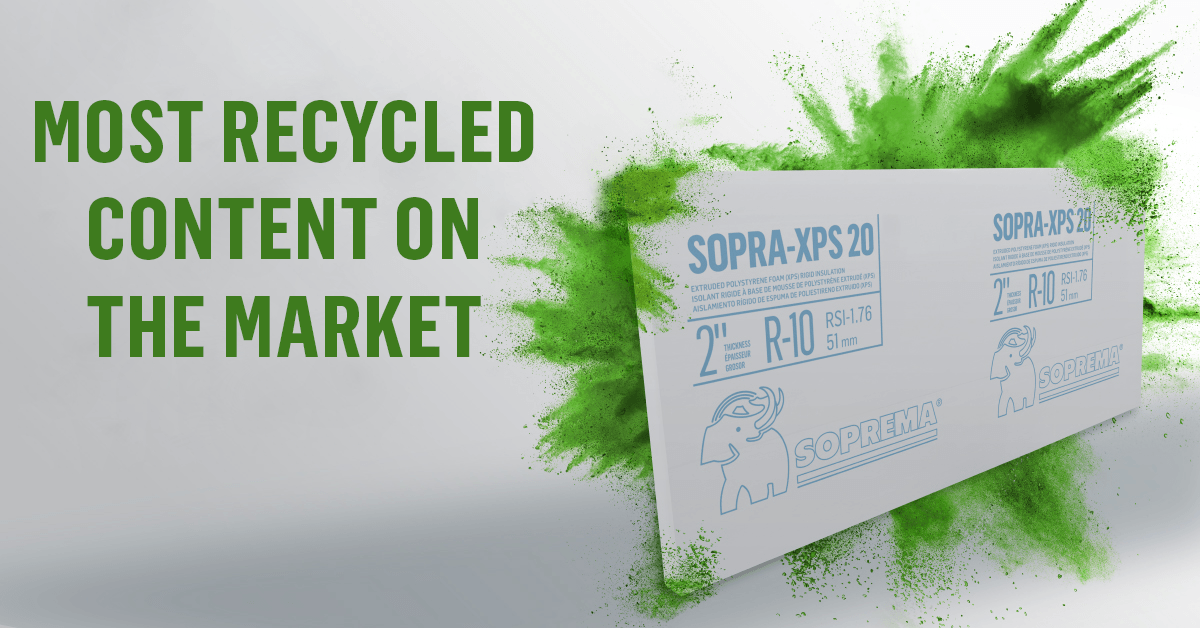 SOPRA-XPS: RECYCLED CONTENT Q&A